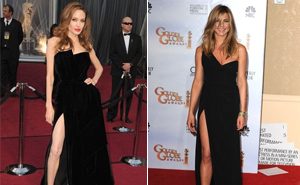 Angelina Jolie e Jennifer Aniston  (Foto: Getty Image)