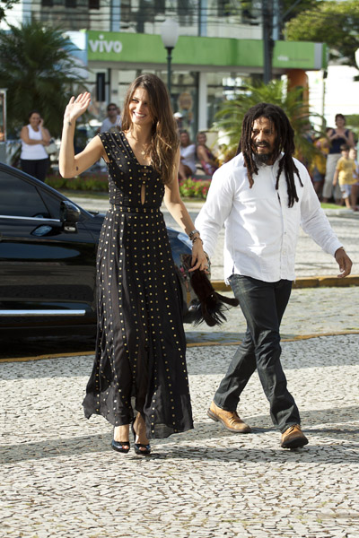 Isabeli Fontana e Rohan Marley