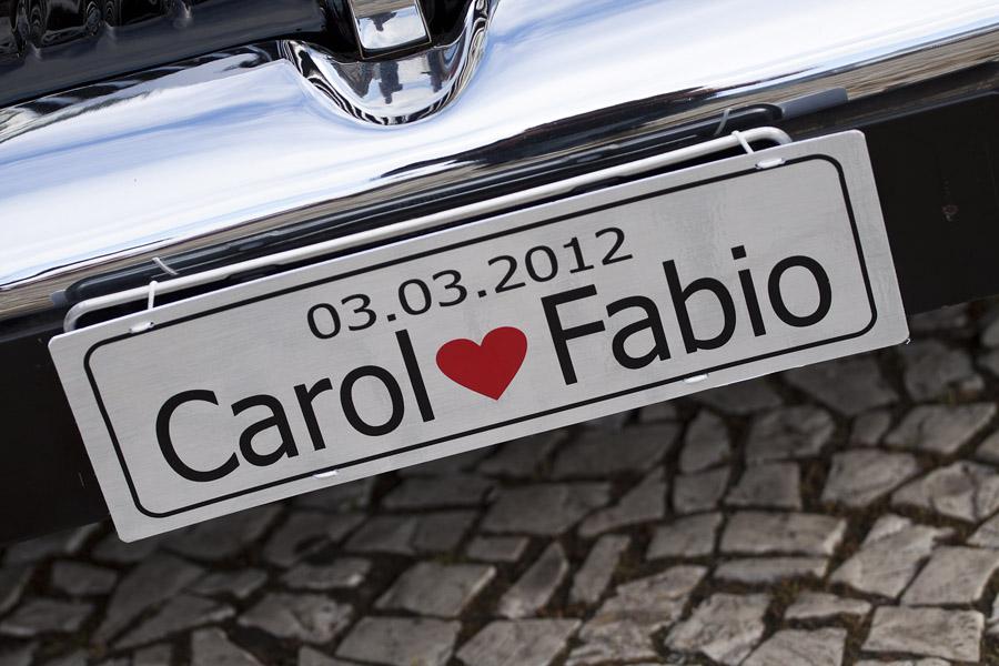 imagem selecionada Alessandro Neves e Sergio Cidade Jr / Photo Rio News Detalhe da placa do carro