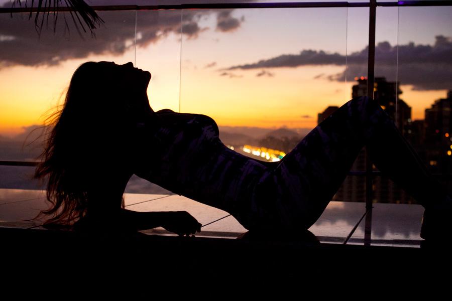 Antes de ir para o 'BBB' da Espanha, Laisa estava hospedada em um hotel na Barra da Tijuca, na Zona Oeste do Rio