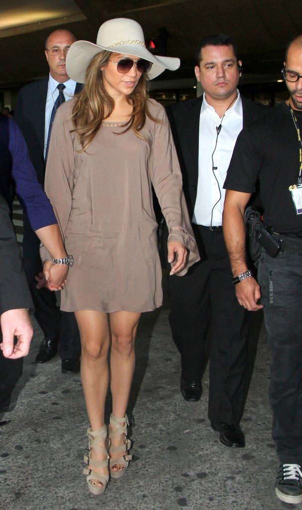 Jenifer Lopez (Foto: Gabirel Reis e Delson Silva / AGnews)