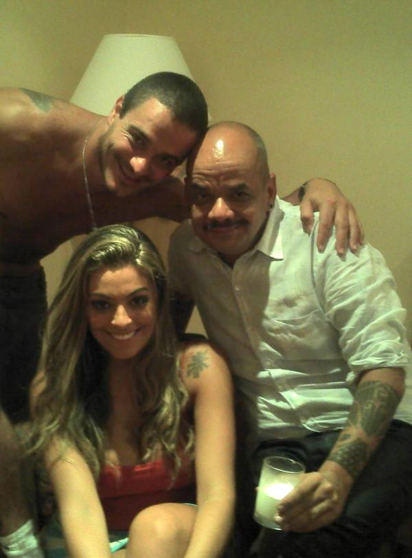 Os ex-BBBs Rafa, João Carvalho e Monique (Foto: Twitter/ Reprodução)