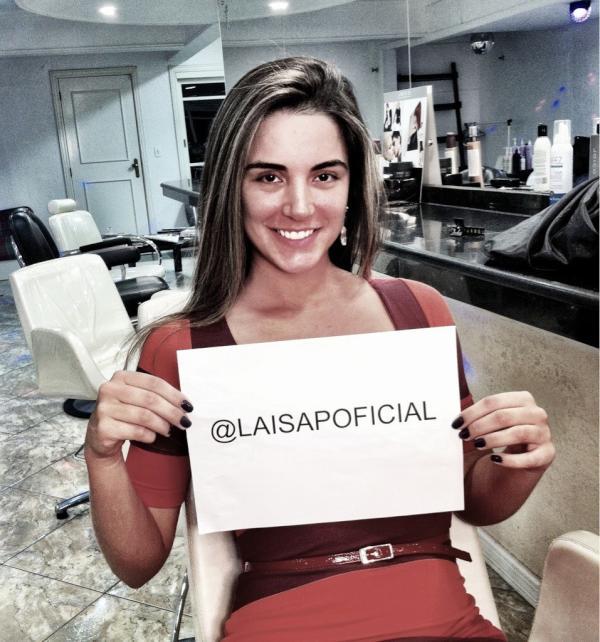 Laisa (Foto: Twitter/Reprodução)