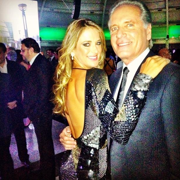 Ticiane Pinheiro e Roberto Justus (Foto: Twitter/Reprodução)