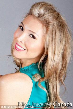 Jenna Talackova, transexual desqualificada do 'Miss Universo Canadá' (Foto: Divulgação / Miss Universe Canada)