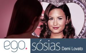 Thumb Ego Sósias  Demi Lovato (Foto: EGO)
