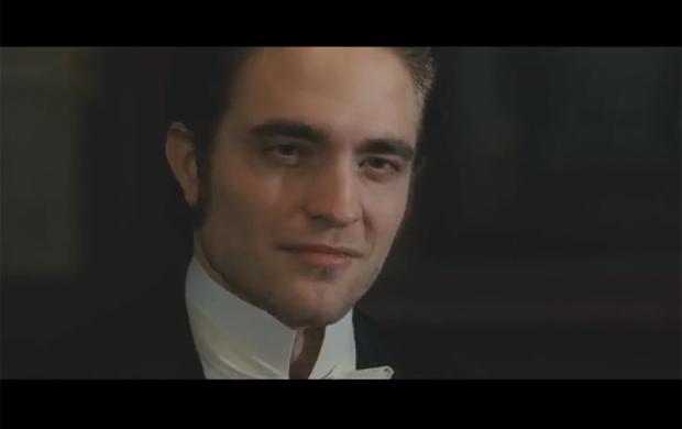 Robert Pattinson no trailer do filme 'Bel Ami' (Foto: YouTube / Reprodução)