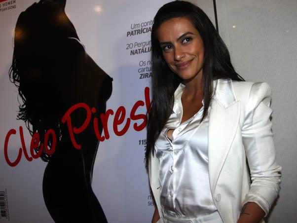 """Cleo Pires considera Orlando Moraes seu pai, mas é filha biológica de Fábio Jr., um dos maiores galãs - e casamenteiros! - entre os famosos. Como se já não bastasse ser linda, a atriz posou nua para a """"Playboy"""" em  2010. Imagina a dor de cabeça..."""