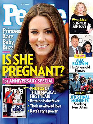Kate Middleton na capa da 'People' (Foto: People/Reprodução)
