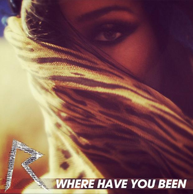 Rihanna na capa do single 'Where Have You Been' (Foto: Divulgação / Divulgação)