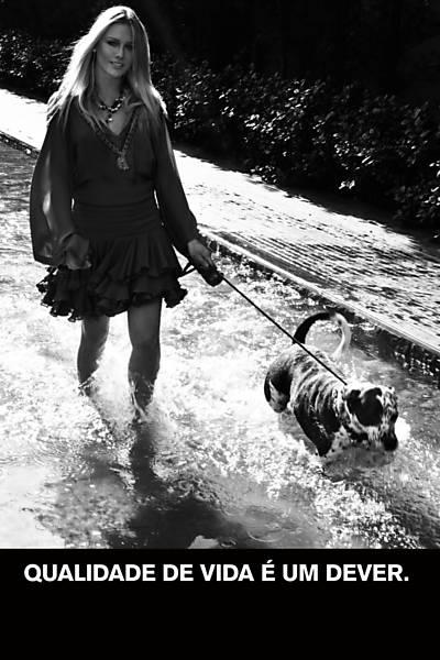 Fiorella Mattheis  (Foto: Jacques Dequeker/Divulgação Ampara Animal)