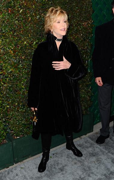 A atriz Jane Fonda