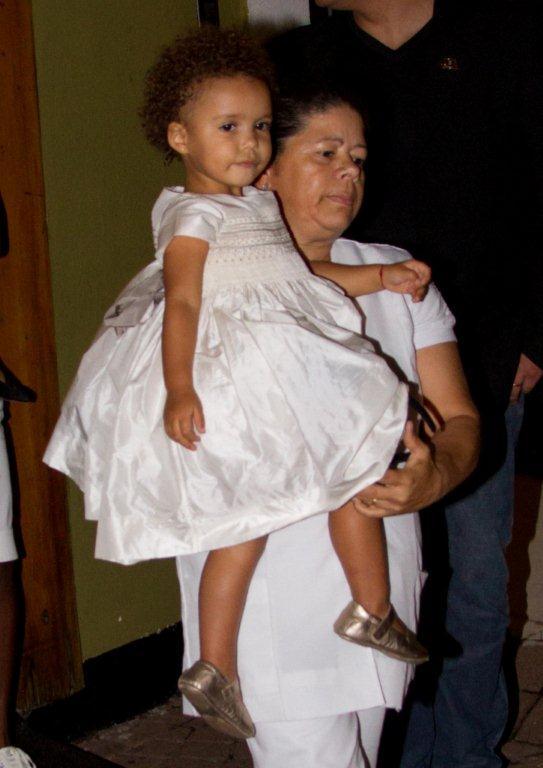 Maria Alice, filha de Ronaldo (Foto: Danilo Carvalho/Agnews)