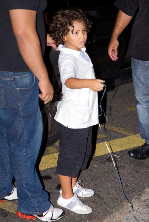 Alex, filho de Ronaldo (Foto: Danilo Carvalho/Agnews)