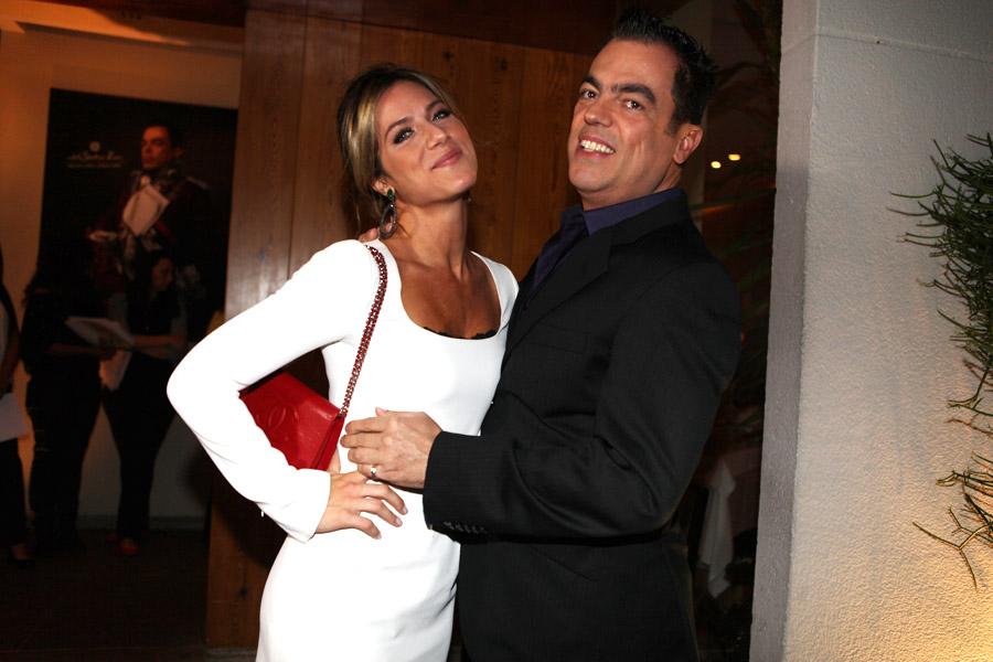 Giovanna Ewbak e Marco Antônio di Biaggi