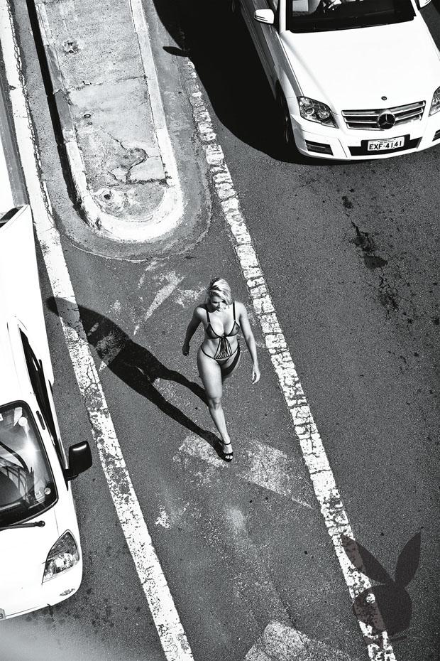 Aryane Steinkopf posa para a Playboy (Foto: Playboy / Divulgação)