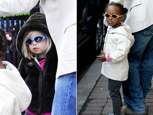 Shiloh e Zahara: as irmãs e seus óculos estilizados