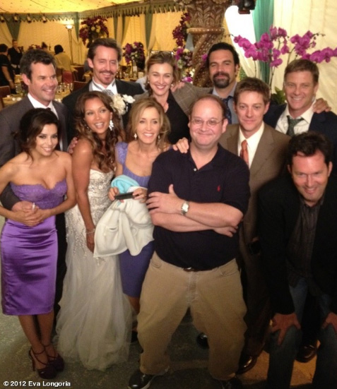 "Elenco de ""Desperates Housewives"" se despede da s&#233;rie (Foto: Reprodu&#231;&#227;o/Twitter)"