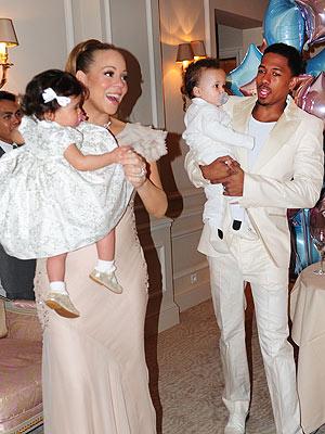 Mariah Carey com o marido e os filhos (Foto: Divulgação)