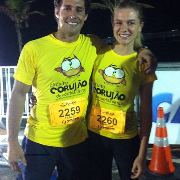 Fiorella Mattheis e Flávio Canto (Foto: Reprodução/ Instagram)