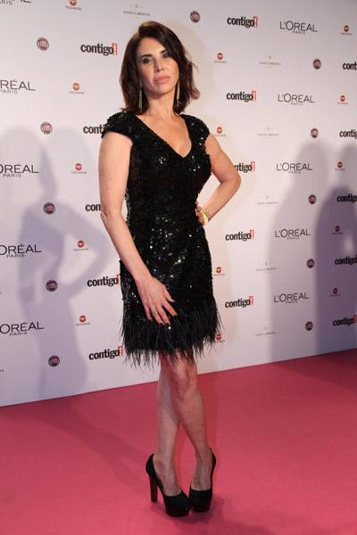 A atriz Cláudia Alencar