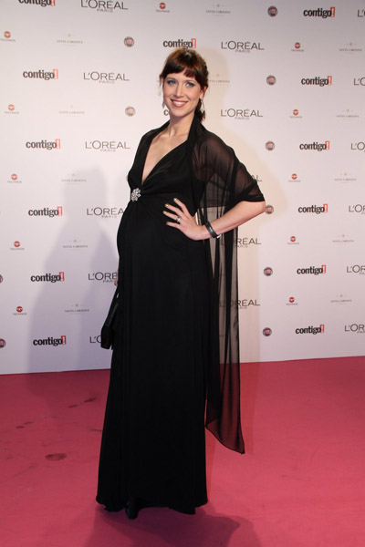 Mel Lisboa exibiu seu barrigão de oito meses de gravidez. Sua filha, Clarice, nasce no mês que vem