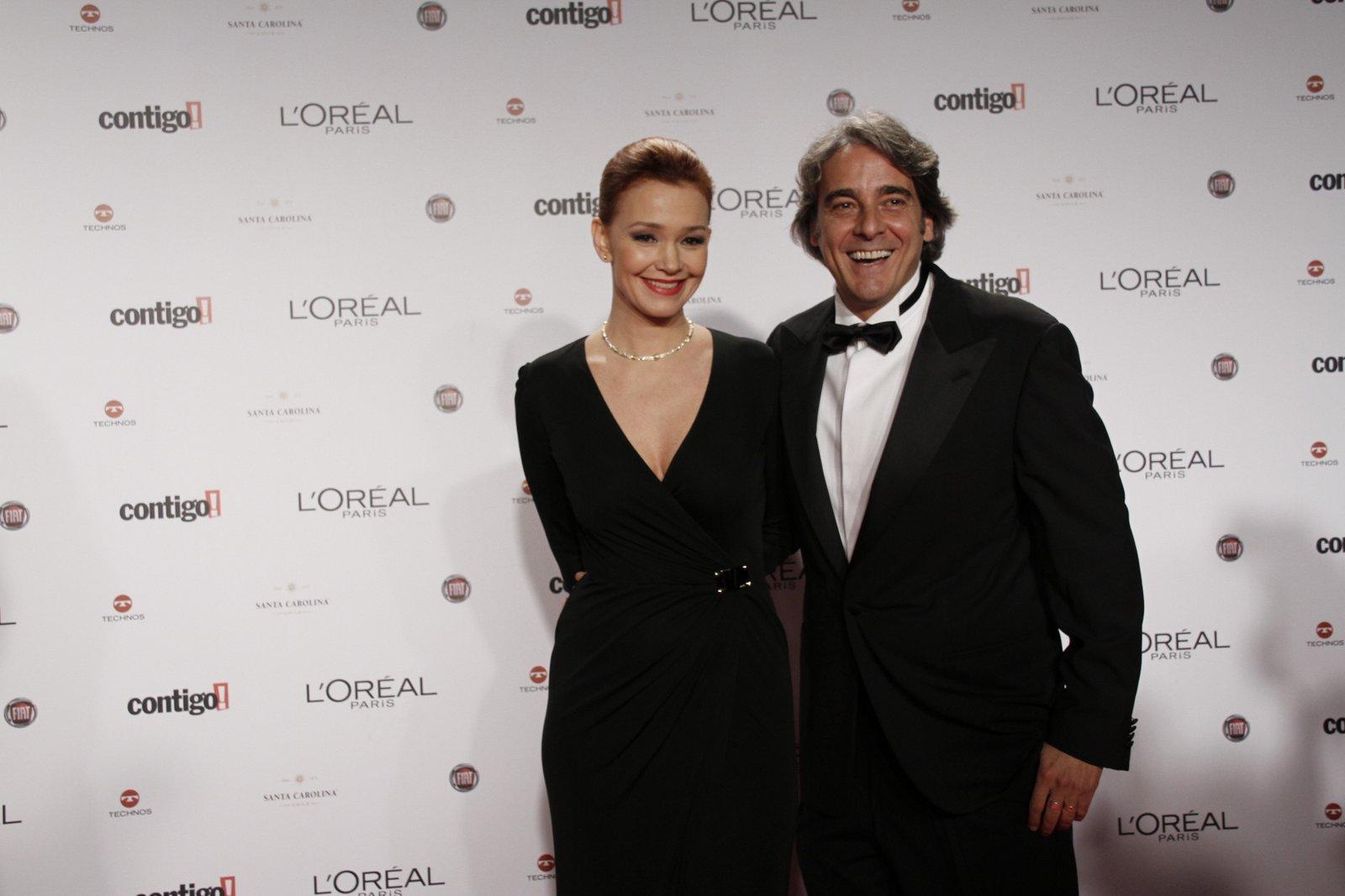 O casal Júlia Lemmertz e Alexandre Borges prestigiou a 14ª edição do Prêmio Contigo! de TV, que aconteceu na noite desta segunda-feira, 14, no Hotel Copacabana Palace, em Copacabana, na Zona Sul do Rio