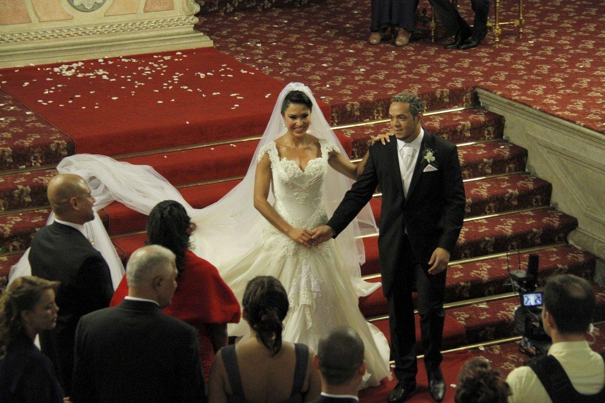 Belo e Gracy: casados!