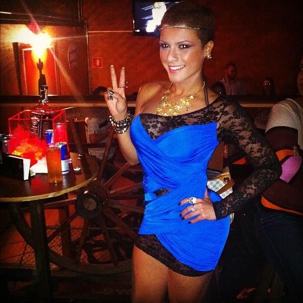 Babi Rossi em evento (Foto: Reprodução/Twitter)