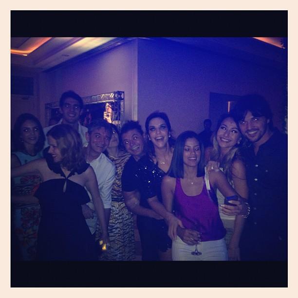 Amigos famosos nos 40 anos de Ivete Sangalo (Foto: Reprodução/Twitter)