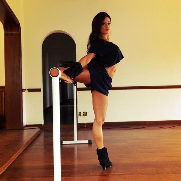 Aline Riscado na Playboy (Foto: Divulgação)