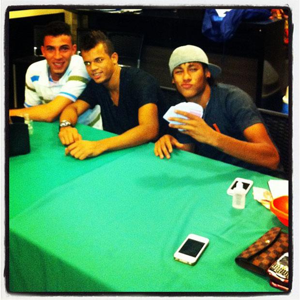 Neymar e o irmão (Foto: Reprodução)
