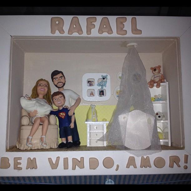 Presente dado por um fã para Claudia Leitte (Foto: Twitter/ Reprodução)