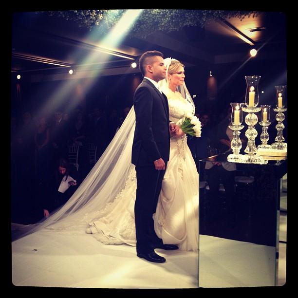 David Brazil posta foto do casamento de Dentinho e Dani Souza (Foto: Instagram / Reprodução)
