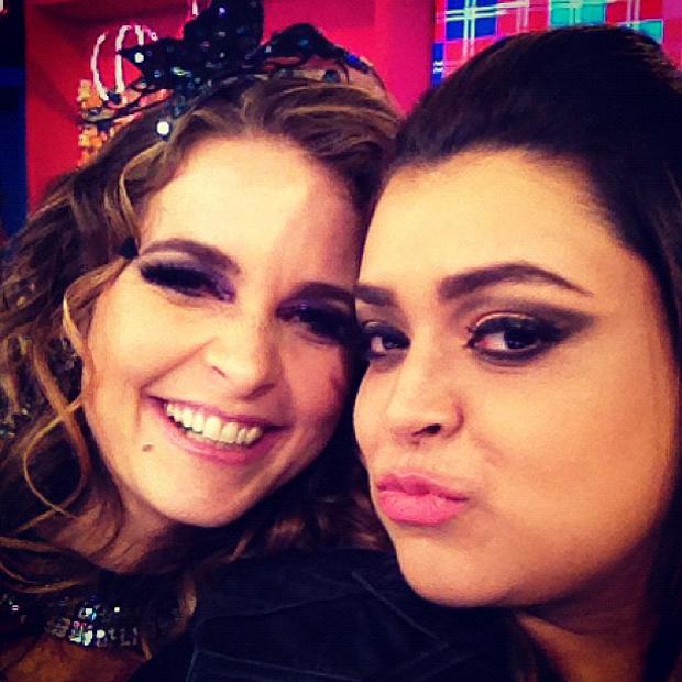 Preta Gil e Cláudia Abreu (Foto: Twitter / Reprodução)