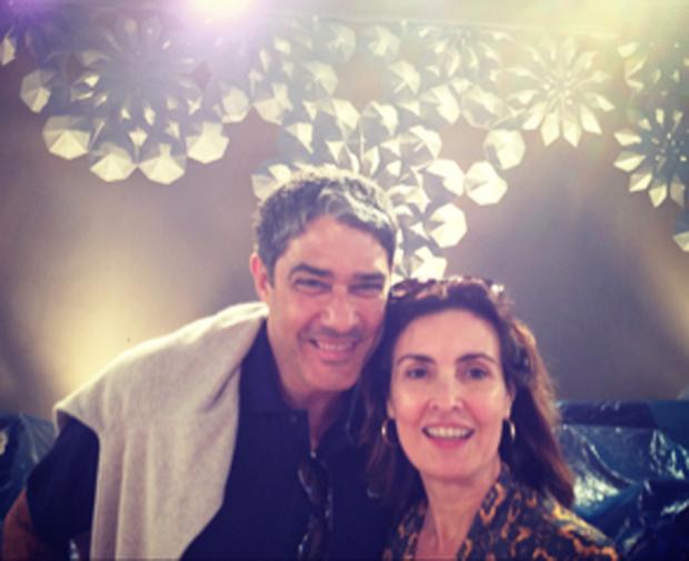 Fátima Bernardes e William Borner (Foto: Reprodução / Twitter)