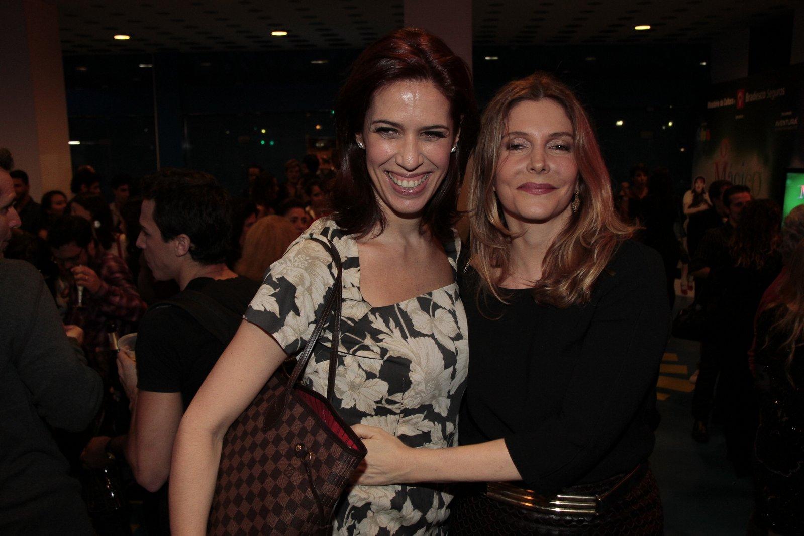 Maria Clara Gueiros e Maria Padilha