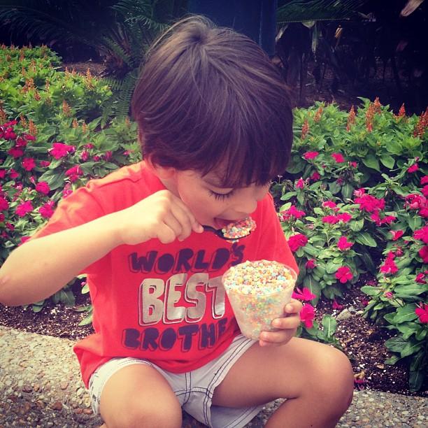 Luca, filho de Kaká e Carol Celico (Foto: Reprodução/Instagram)