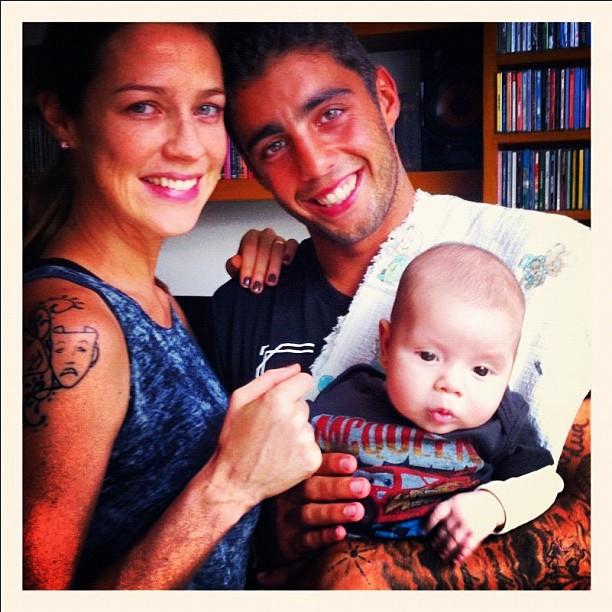 Luana Piovani e família (Foto: Reprodução/Twitter)