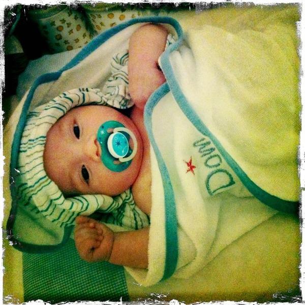Dom, filho de Luana Piovani (Foto: Reprodução/Twitter)