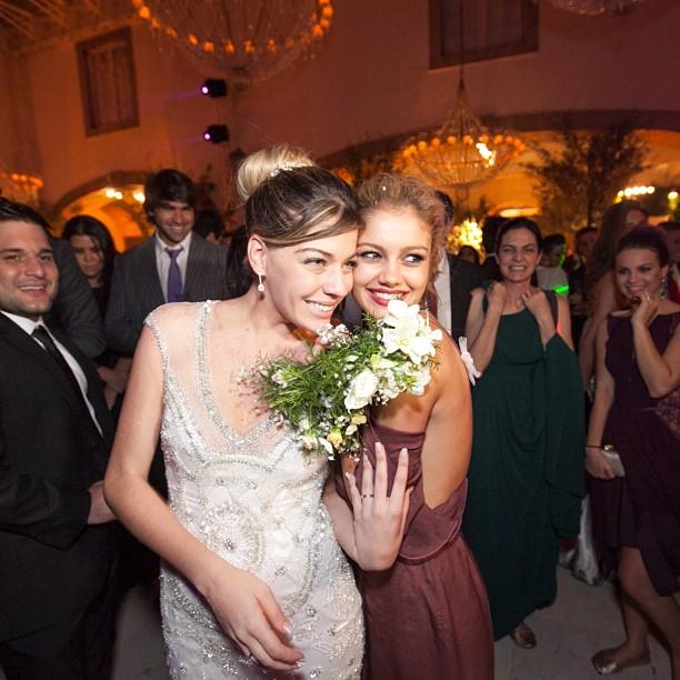 Luma Costa com Sophie Charlotte (Foto: Reprodução/Instagram)