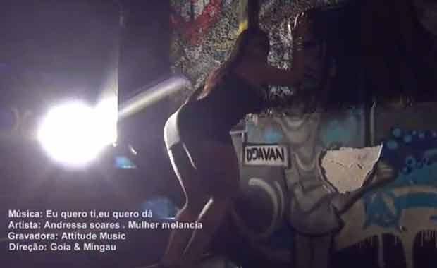 Mulher Melancia lança novo clipe (Foto: Reprodução)