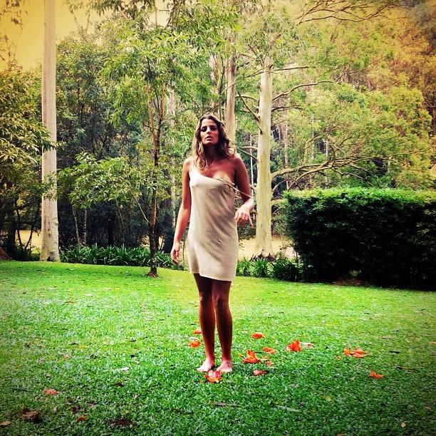 """Mari Paraíba para a """"Playboy"""" (Foto: Reprodução/Instagram)"""