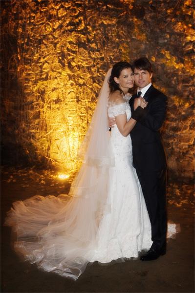 Katie Holmes e Tom Cruise se casaram em novembro de 2006