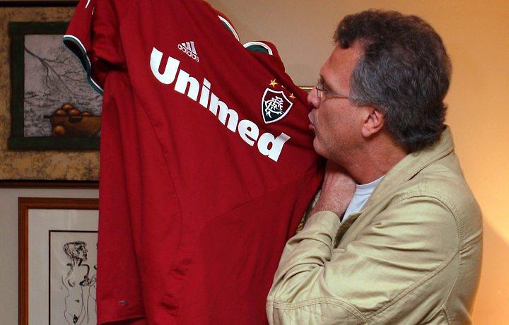 Pedro Bial um dos milhões de tricolores de coração