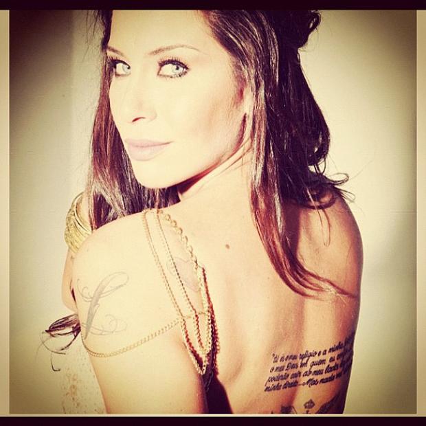 Lizi Benites (Foto: Instagram / Reprodução)