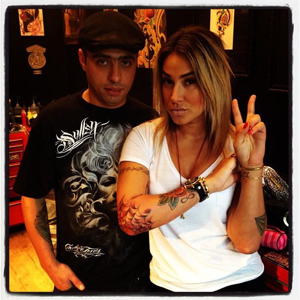 Dani Bolina exibe nova tatuagem (Foto: Instagram)