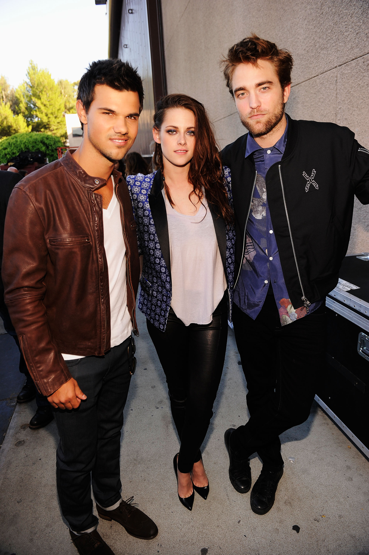 Taylor Lautner, Kristen Stewart e Robert Pattinson