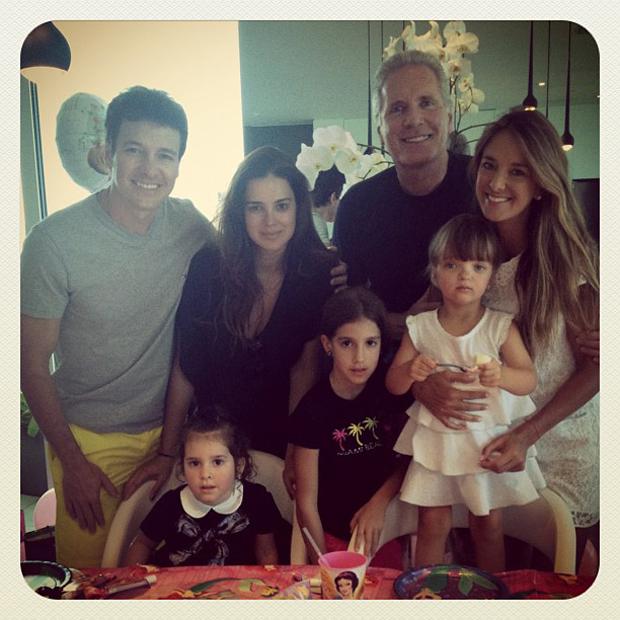 Ticiane Pinheiro posta foto do aniversário de Rafa (Foto: Instagram / Reprodução)