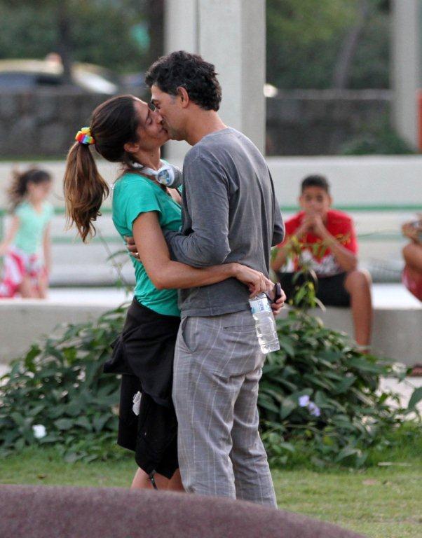Eduardo Moscovis e Cynthia Howllet (Foto: André Freitas/ Ag. News)